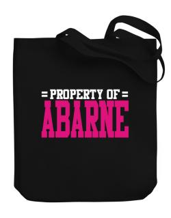 Property Of Abarne Canvas Tote Bag