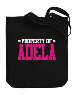 Property Of Adela Canvas Tote Bag