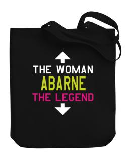 Abarne - The Woman, The Legend Canvas Tote Bag