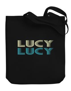 Lucy Canvas Tote Bag