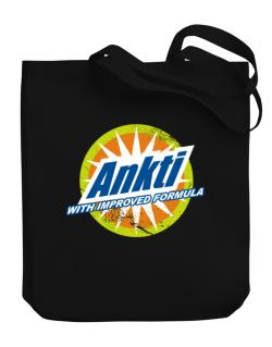 Ankti - With Improved Formula Canvas Tote Bag