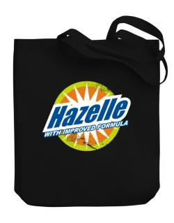 Hazelle - With Improved Formula Canvas Tote Bag