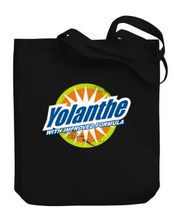Yolanthe - With Improved Formula Canvas Tote Bag