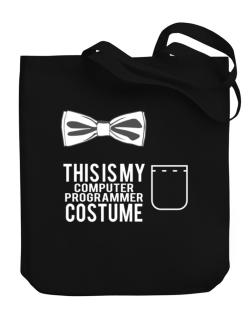 this is my Computer Programmer costume Canvas Tote Bag