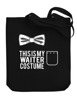 this is my Waiter costume Canvas Tote Bag