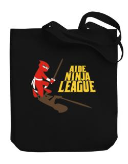 Aide Ninja League Canvas Tote Bag