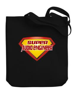 Super Audio Engineer Canvas Tote Bag