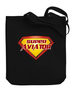 Super Aviator Canvas Tote Bag