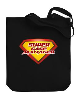 Super Case Manager Canvas Tote Bag