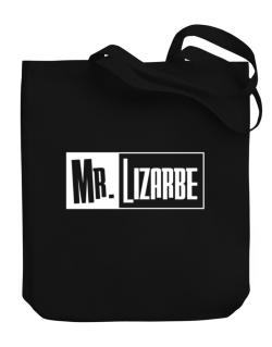 Mr. Lizarbe Canvas Tote Bag