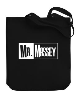 Mr. Massey Canvas Tote Bag