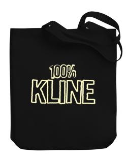 100% Kline Canvas Tote Bag
