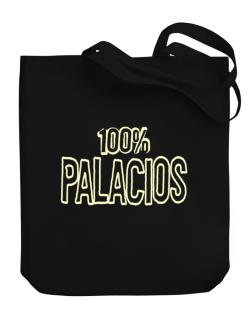 100% Palacios Canvas Tote Bag