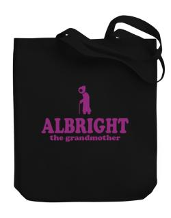 Albright The Grandmother Canvas Tote Bag