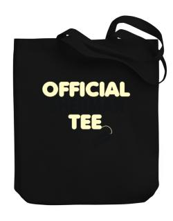 Official Sherman Tee - Original Canvas Tote Bag