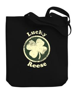 Lucky Reese Canvas Tote Bag
