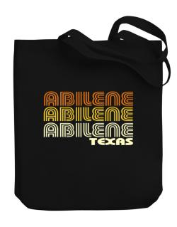 Abilene State Canvas Tote Bag
