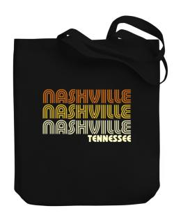 Nashville State Canvas Tote Bag