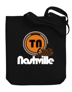 Nashville - State Canvas Tote Bag