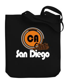 San Diego - State Canvas Tote Bag
