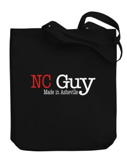 Guy Made In Asheville Canvas Tote Bag
