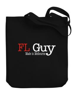 Guy Made In Melbourne Canvas Tote Bag