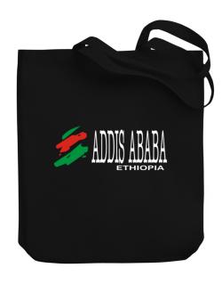 Brush Addis Ababa Canvas Tote Bag