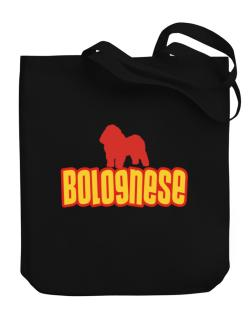 Breed Color Bolognese Canvas Tote Bag