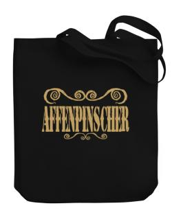 Affenpinscher - Ornaments / Urban Style Canvas Tote Bag