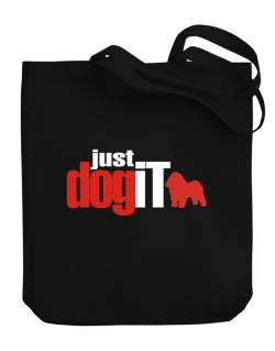 Bolognese ... Just Dog It Canvas Tote Bag