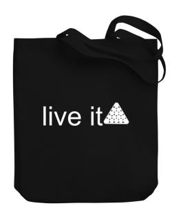 Live Pool - Silhouette Canvas Tote Bag