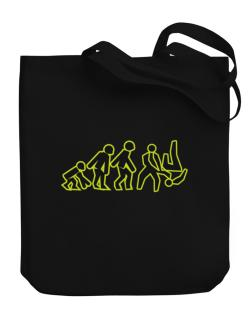Evolution - Aikido Canvas Tote Bag