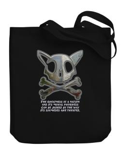 The Greatnes Of A Nation - Siamese Canvas Tote Bag