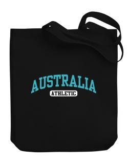 Australia Athletics Canvas Tote Bag