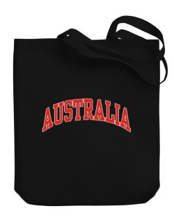 Australia - Simple Canvas Tote Bag