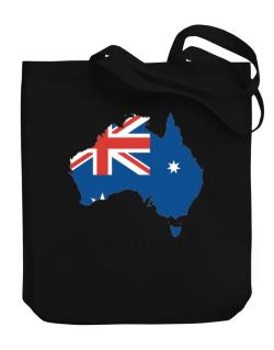 Australia - Country Map Color Canvas Tote Bag