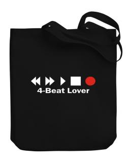 4 Beat Lover Canvas Tote Bag