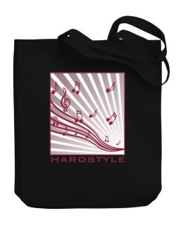 Hardstyle - Musical Notes Canvas Tote Bag