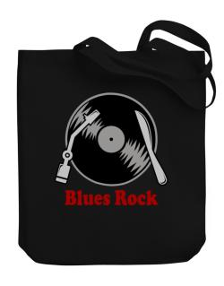 Blues Rock - Lp Canvas Tote Bag