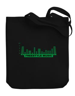 Freestyle Music - Equalizer Canvas Tote Bag