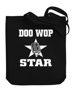 Doo Wop Star - Microphone Canvas Tote Bag