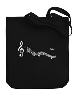 Timba - Notes Canvas Tote Bag