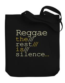 Bolso de Reggae The Rest Is Silence...