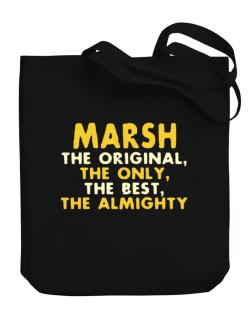 Marsh The Original Canvas Tote Bag