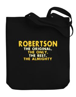 Robertson The Original Canvas Tote Bag
