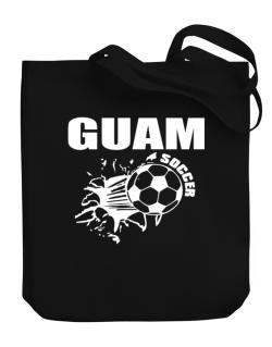 All Soccer Guam Canvas Tote Bag