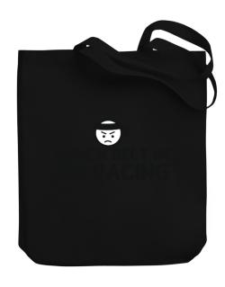 Black Belt In Air Racing Canvas Tote Bag