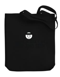 Black Belt In Hide And Seek Canvas Tote Bag