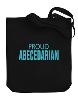 Proud Abecedarian Canvas Tote Bag