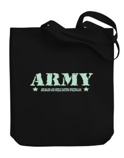 Army Jerusalem And Middle Eastern Episcopalian Canvas Tote Bag